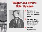 wagner and hitler s belief systems1