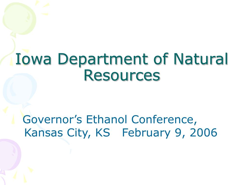 iowa department of natural resources l.