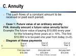 c annuity