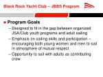 black rock yacht club jbbs program3