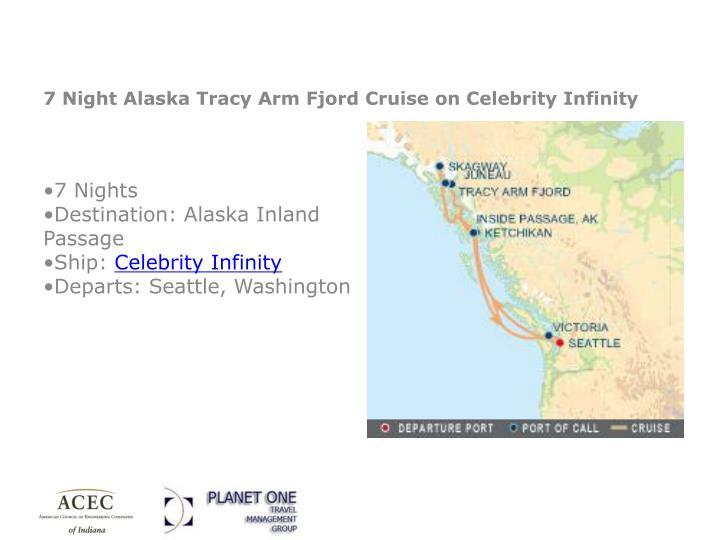 Alaska tracy arm fjord cruise celebrity