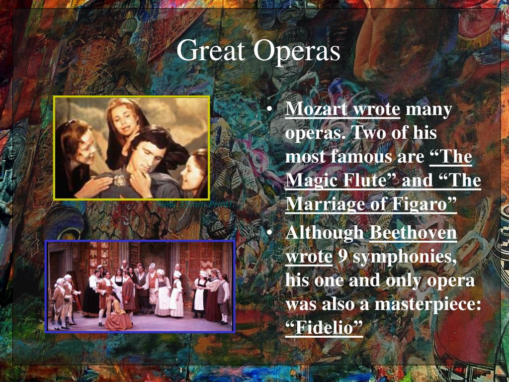 Great Operas