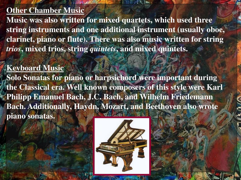 Other Chamber Music