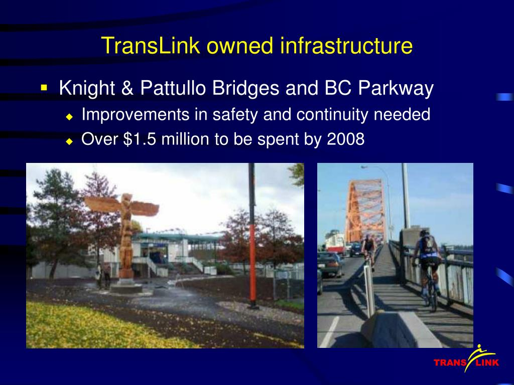 TransLink owned infrastructure