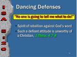 dancing defenses39