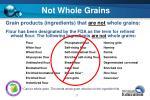 not whole grains