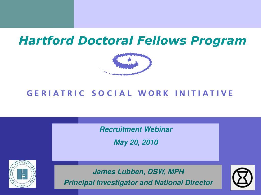 hartford doctoral fellows program l.
