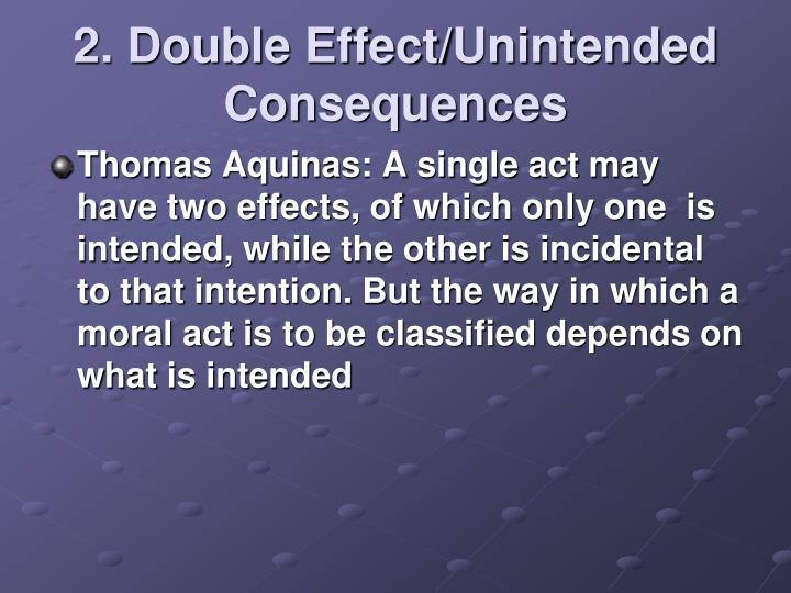 2. Double Effect/
