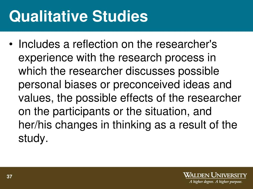 Qualitative Studies