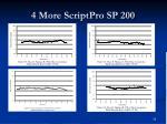4 more scriptpro sp 200