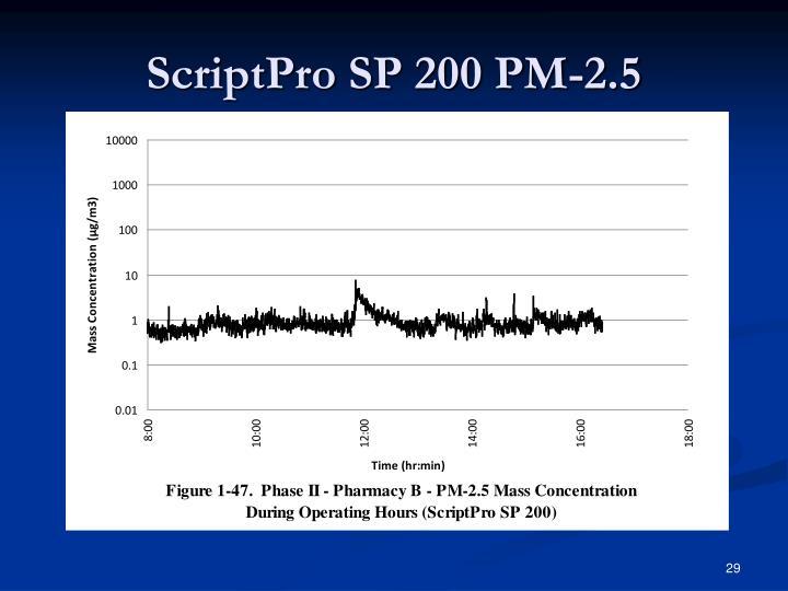ScriptPro SP 200 PM-2.5