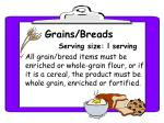 grains breads