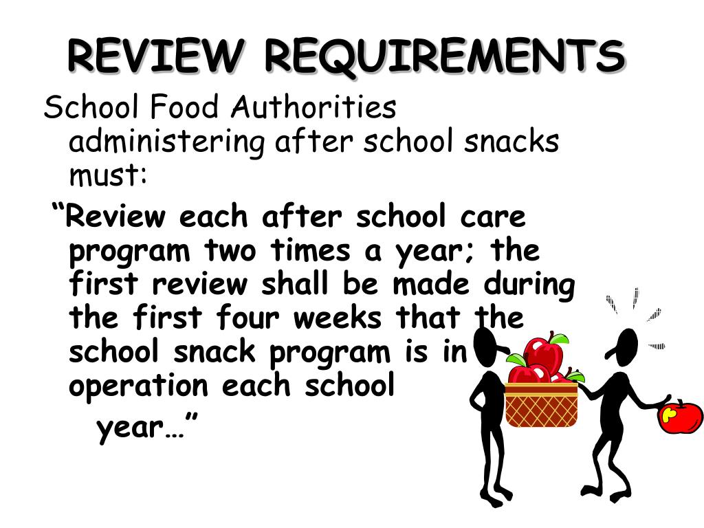 REVIEW REQUIREMENTS