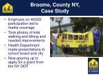 broome county ny case study