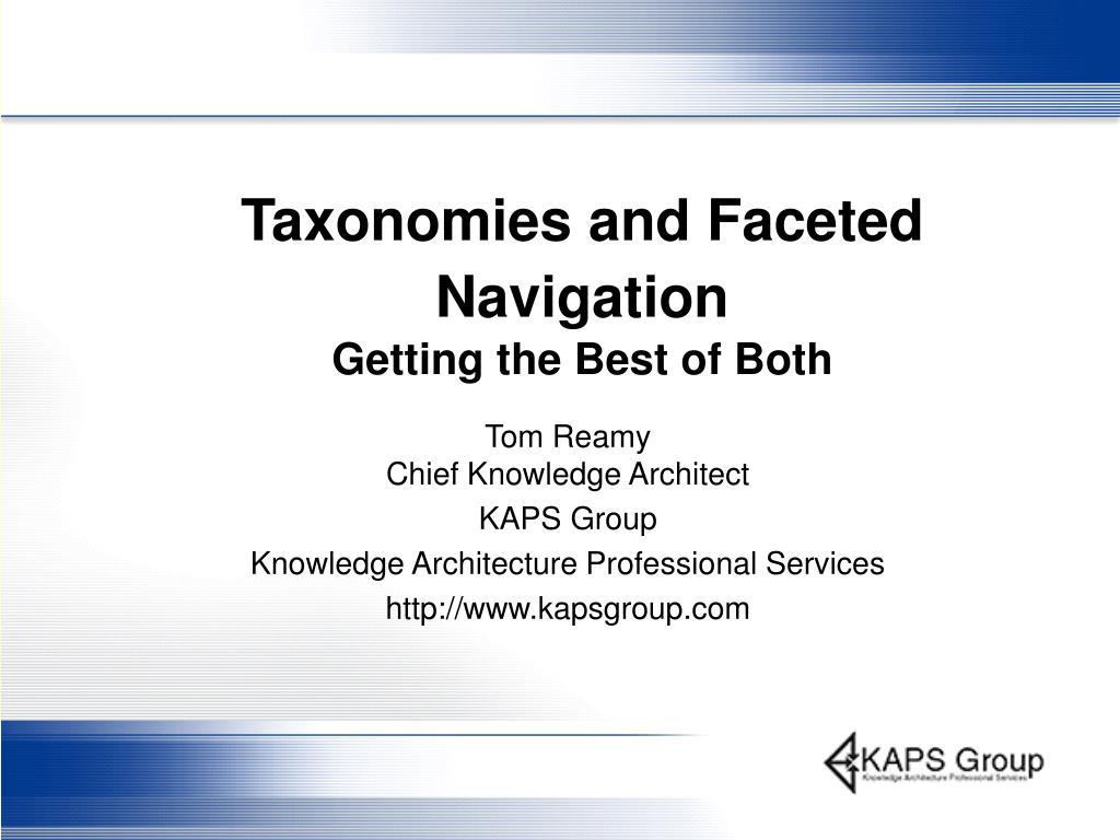 taxonomies and faceted navigation getting the best of both l.