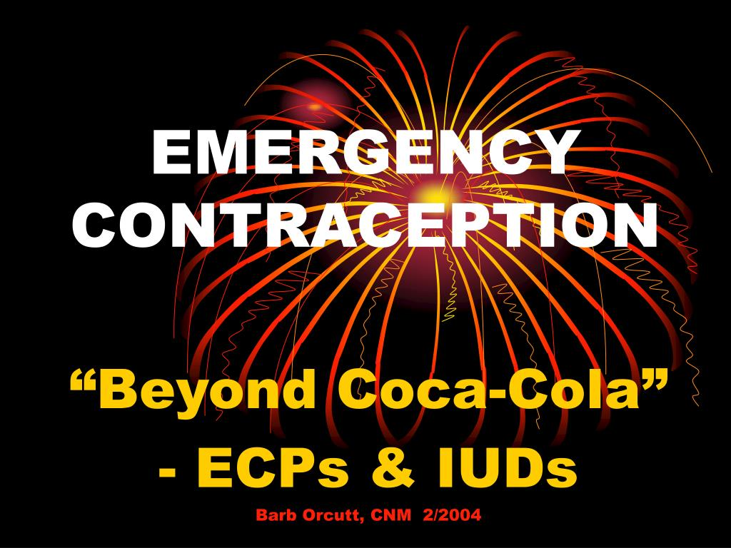 emergency contraception l.
