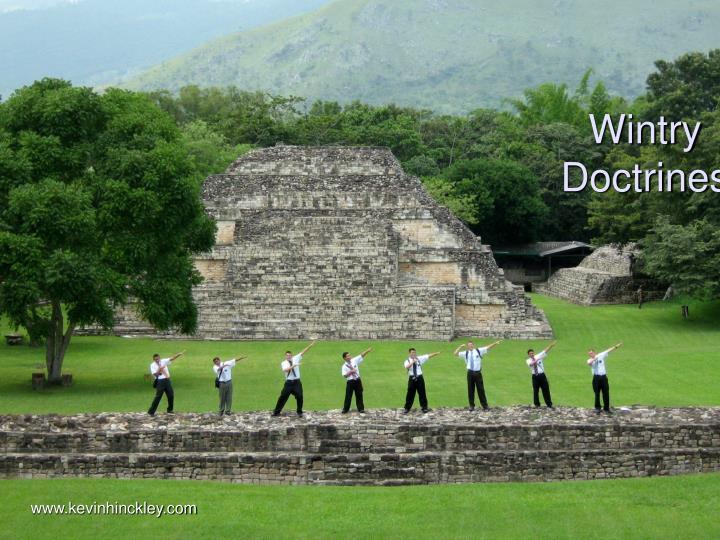 Wintry doctrines