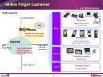 wibro target customer
