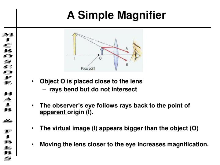 A Simple Magnifier