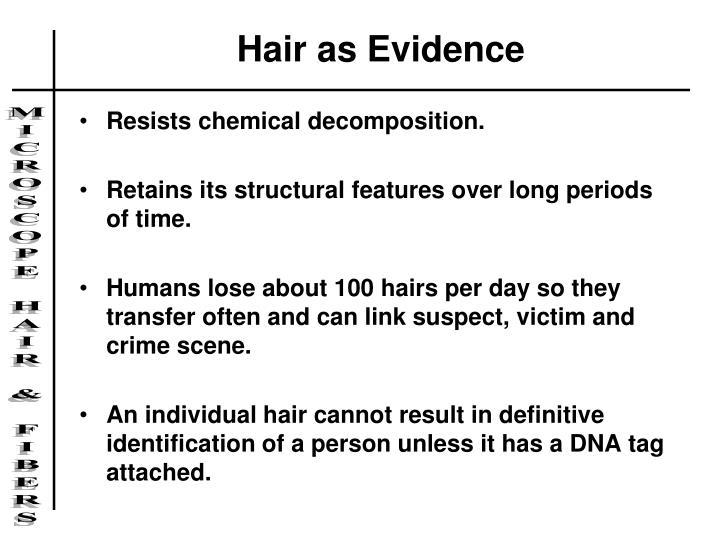 Hair as Evidence