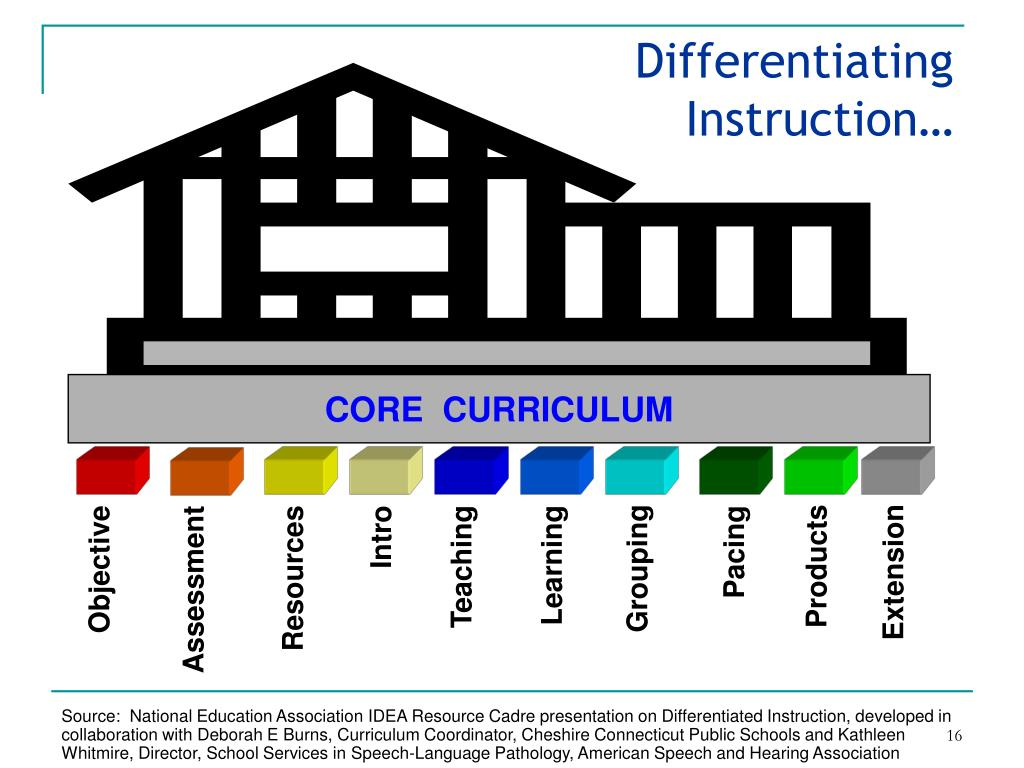 Differentiating Instruction…