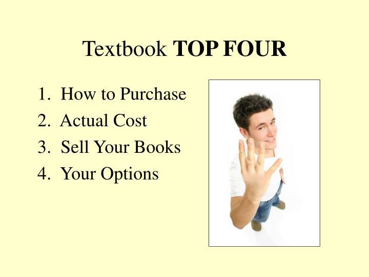 Textbook top four