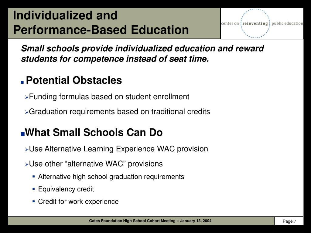 Individualized and