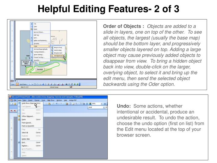 Helpful Editing Features- 2 of 3