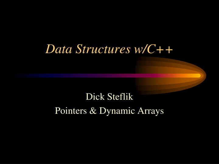 data structures w c n.