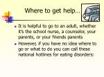 where to get help