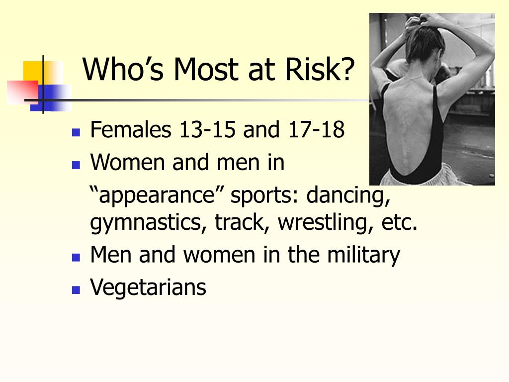 Who's Most at Risk?
