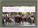 clothing footwear
