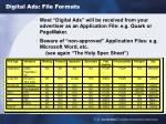 digital ads file formats