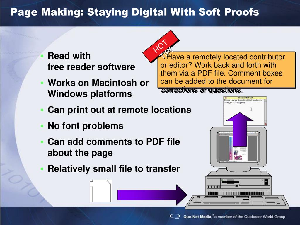 Page Making: Staying Digital With Soft Proofs