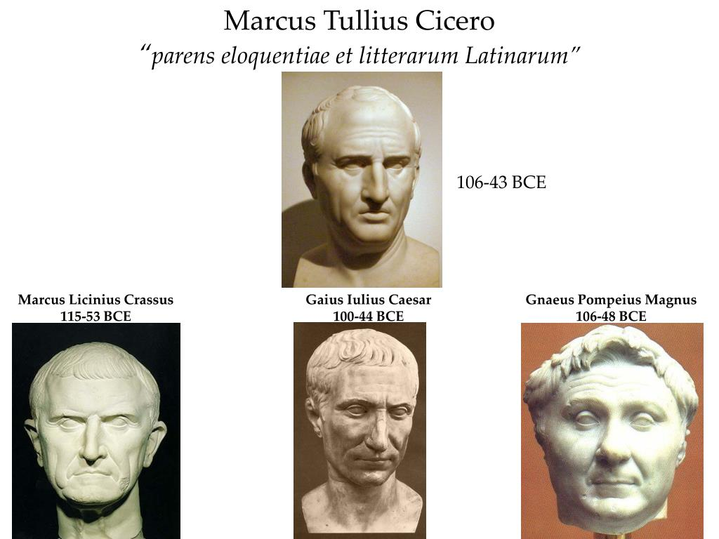 marcus tullius cicero parens eloquentiae et litterarum latinarum