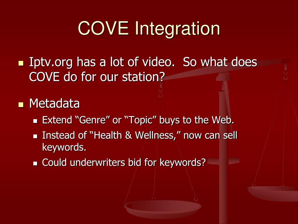 COVE Integration