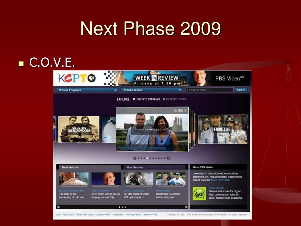 Next Phase 2009