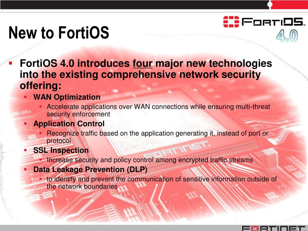 PPT - Introducing FortiOS 4 0 Redefining Network Security