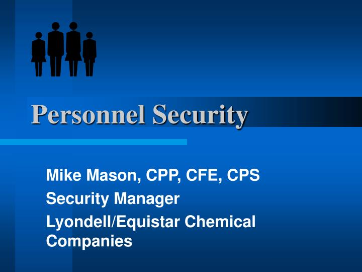 personnel security n.