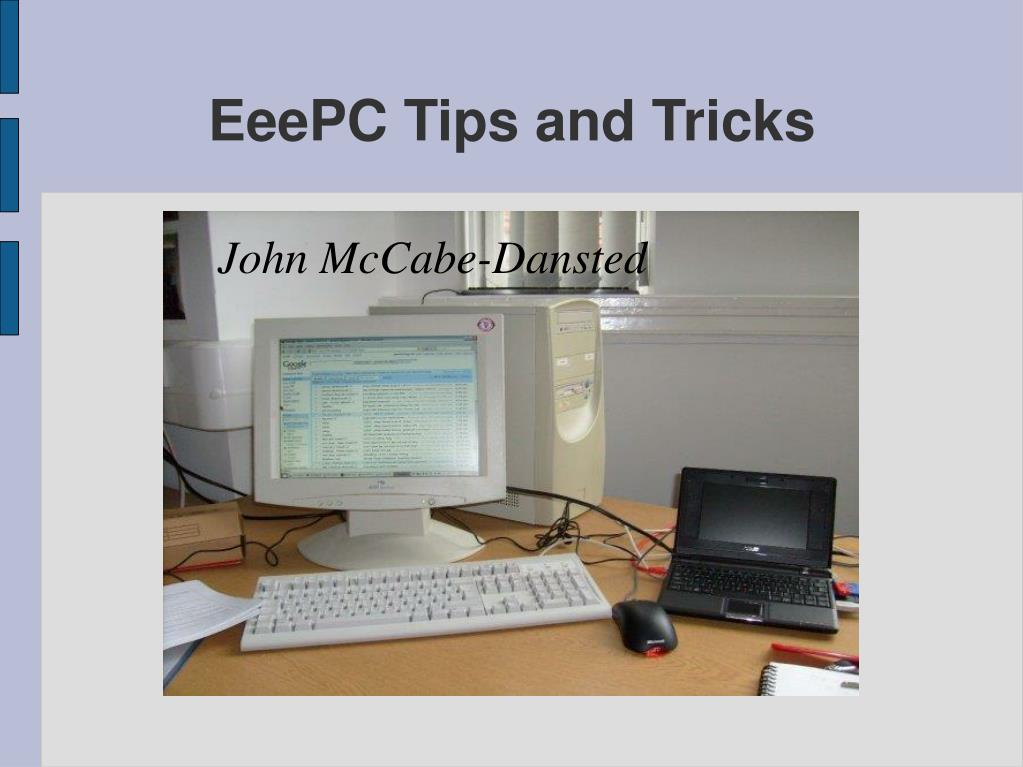 eeepc tips and tricks l.