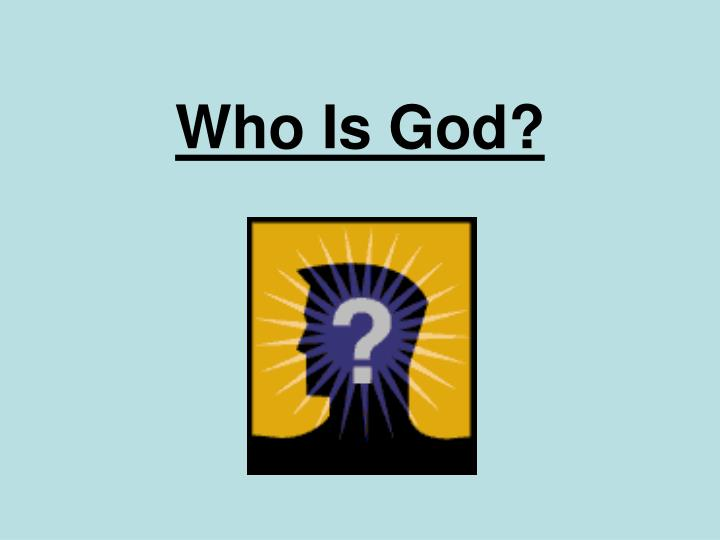 who is god n.