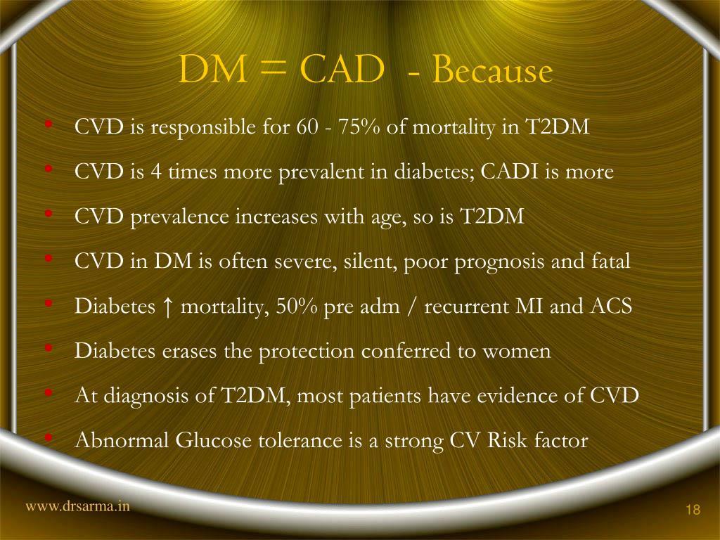 DM = CAD  - Because
