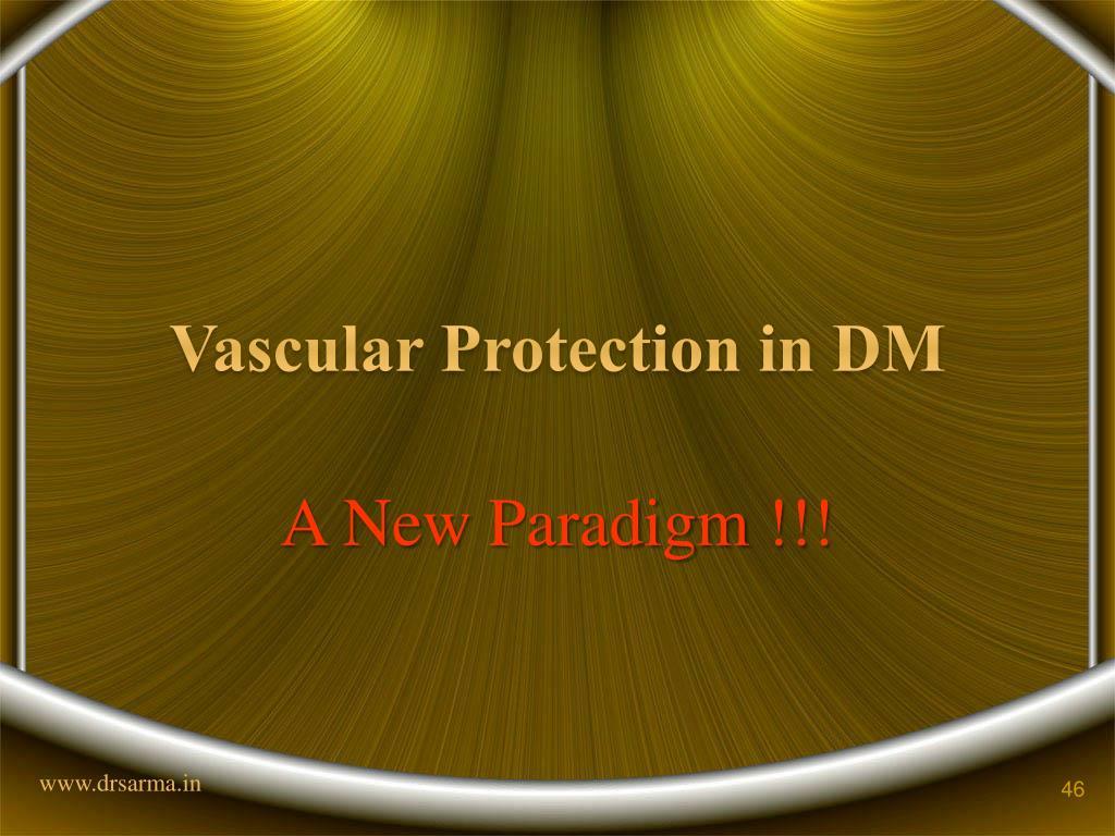 Vascular Protection in DM