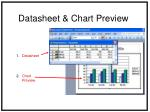 datasheet chart preview