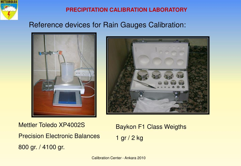 PRECIPITATION CALIBRATION LABORATORY
