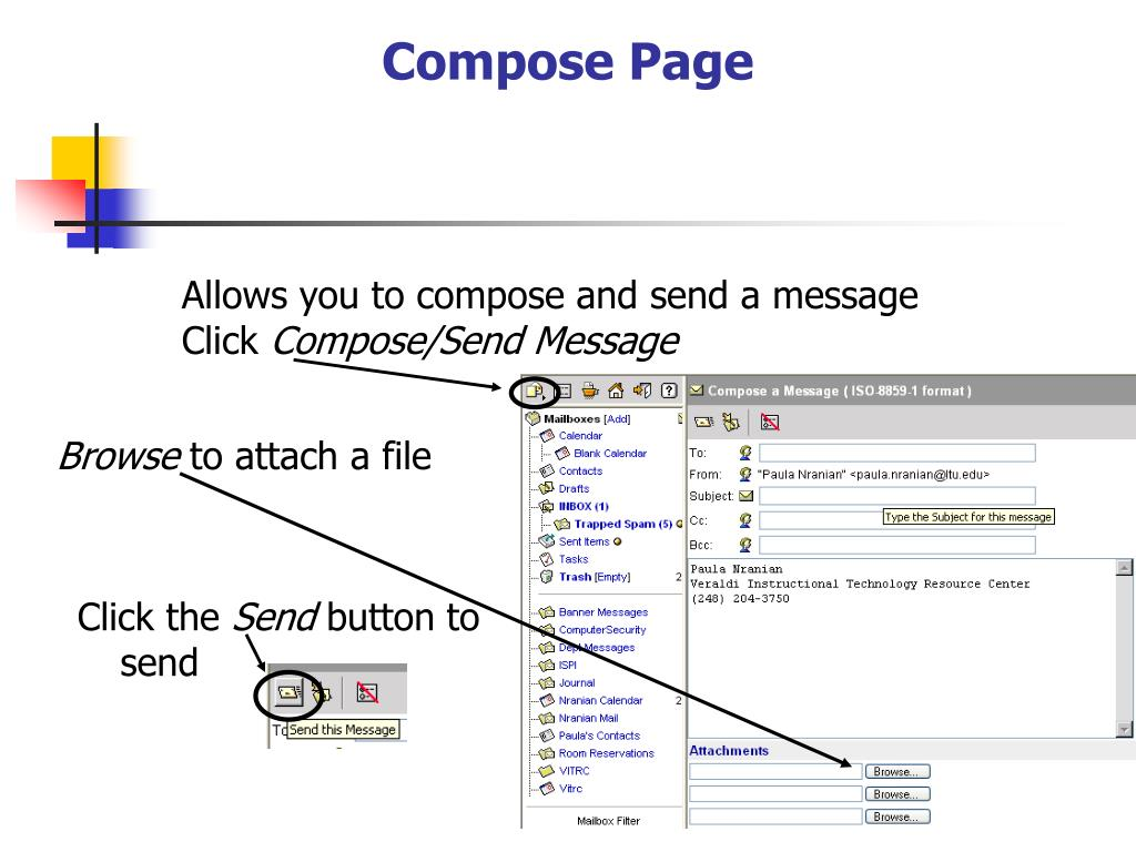 Compose Page