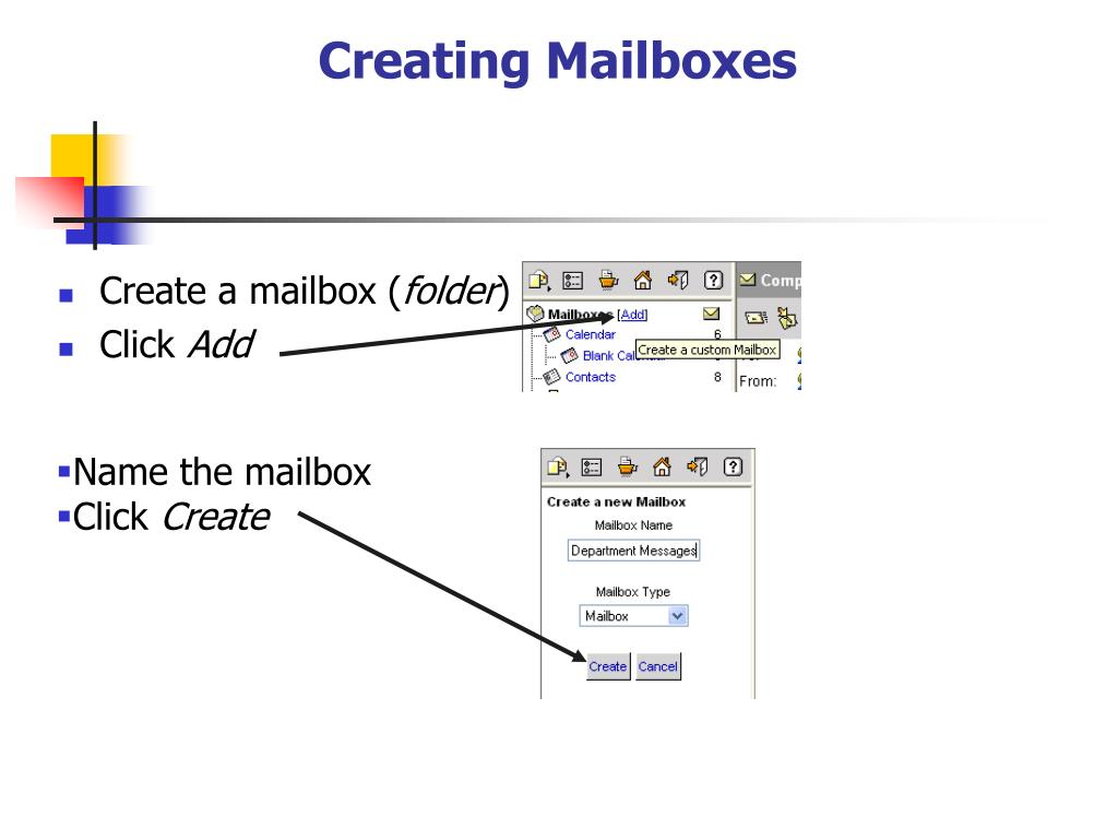 Creating Mailboxes