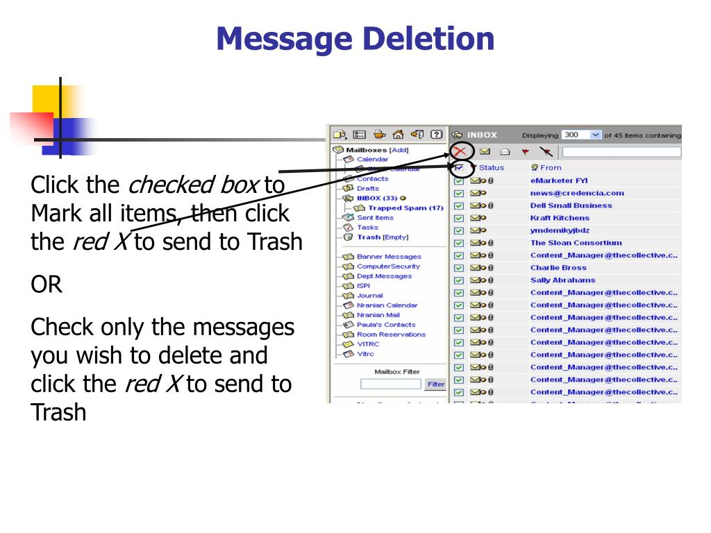 Message Deletion