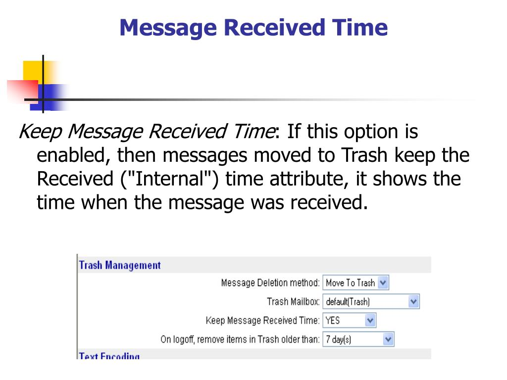 Message Received Time
