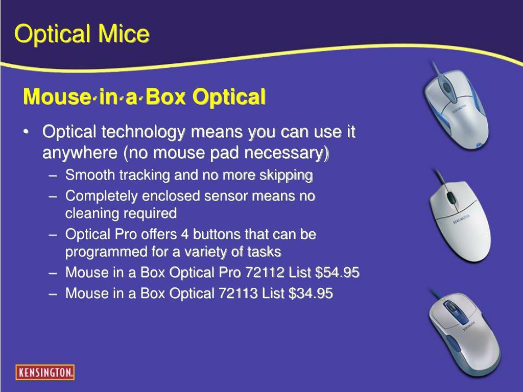 Optical Mice